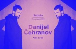 Danijel Čehranov večeras u Kafematu