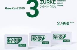 Nove Green Love kartice po ceni od 2990 RSD
