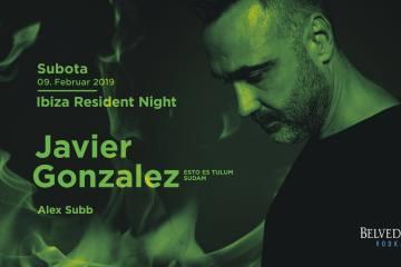 Javier Gonzalez i duh Ibice večeras u Kafematu