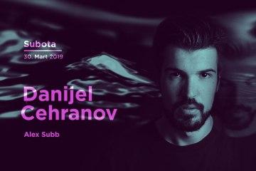 Danijel Čehranovu subotu 29. marta u Kafematu