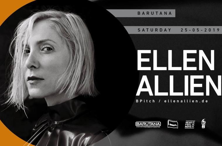 Ellen Allien 25. maja u Barutani