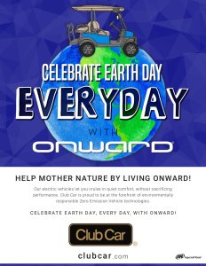 Onward Earth Day 2019 Full Pg Magazine Ad Template - Onward Earth Day 2019