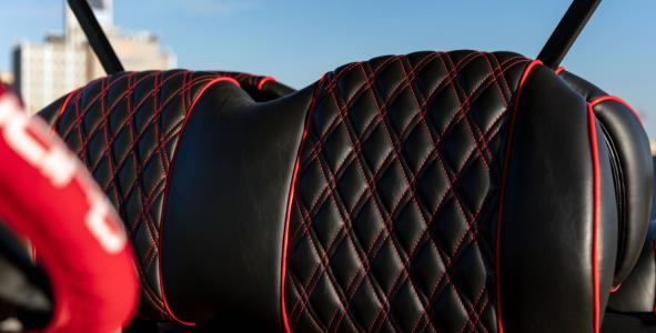 cc onward blazing comeback seats - Club Car Onward - Blazing Comeback Limited Edition