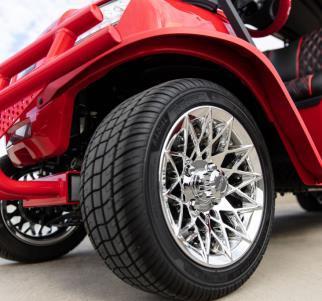 cc onward blazing comeback wheels - Club Car Onward - Blazing Comeback Limited Edition