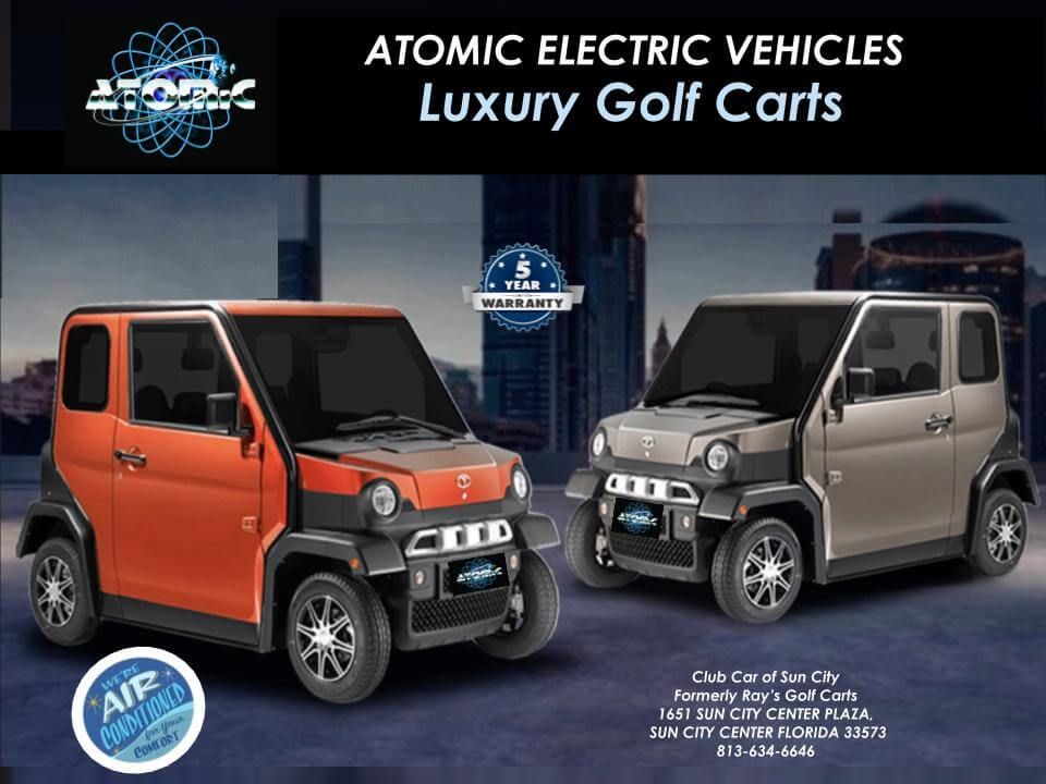 Atomic Coupe 1 - Atomic Electric Vehicles