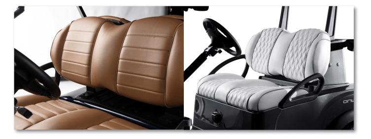 seats - Club Car Onward
