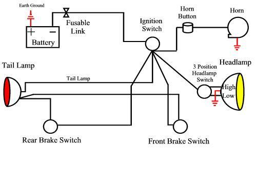 Simple Wiring Diagram For Chopper - Wiring Diagram on simple harley wiring diagram, basic headlight wiring diagram, ignition system wiring diagram, basic electronic ignition diagram, cdi ignition wiring diagram, basic motorcycle wiring diagram, ignition coil wiring diagram, motorcycle ignition diagram, basic ignition switch wiring diagram,