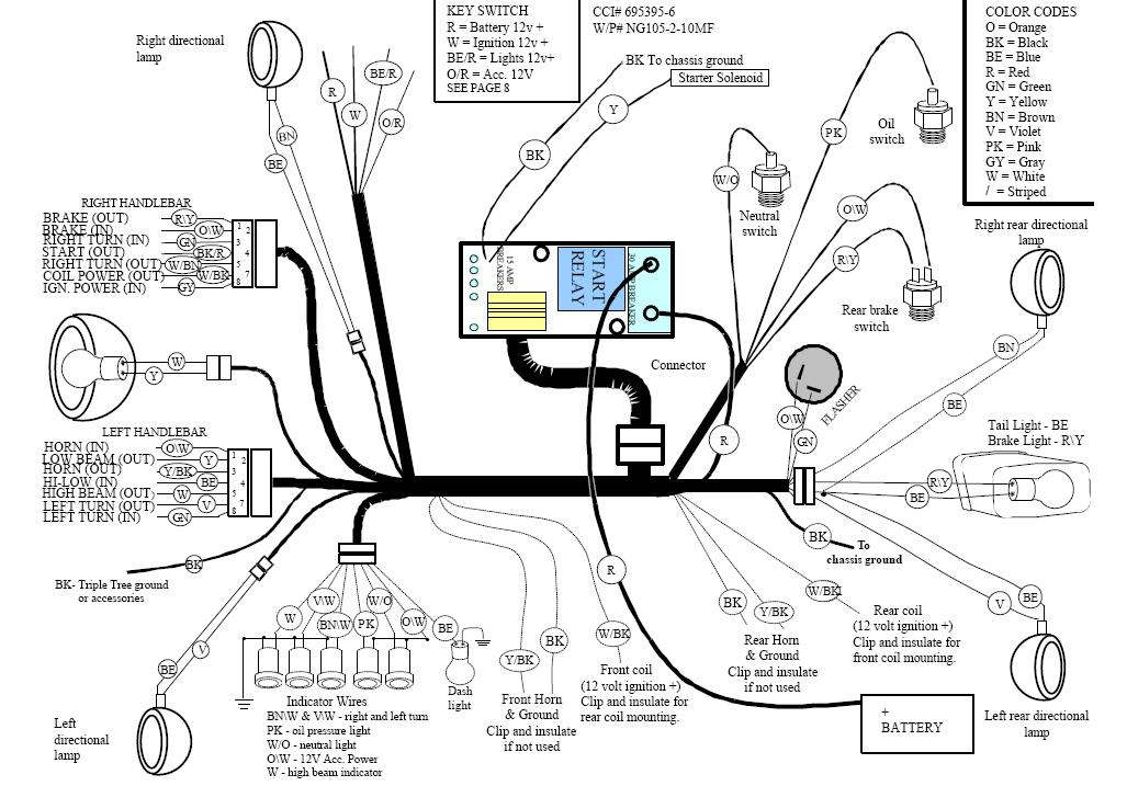 Big Dog Bulldog Wiring Diagram Big Dog EFI Diagram Wiring