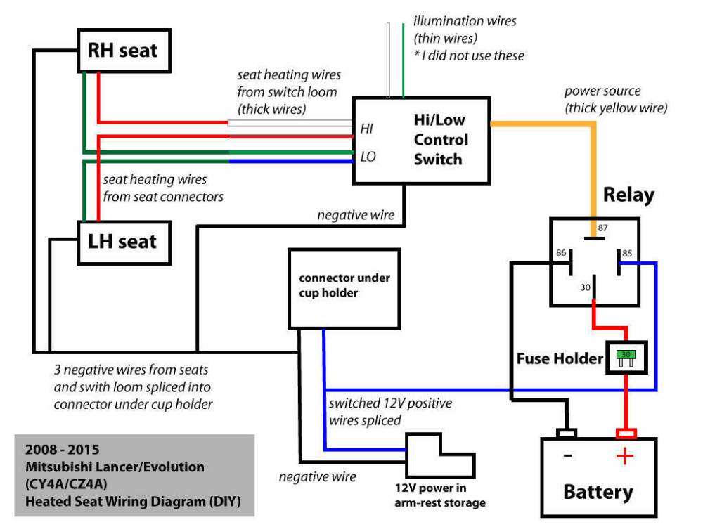 medium resolution of seat heater wiring diagram wiring diagram features 2009 f150 seat heater diagram source heated seats relay ford