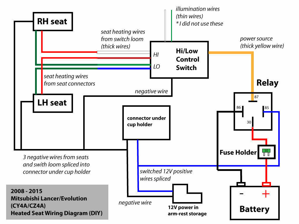 hight resolution of seat heater wiring diagram wiring diagram features 2009 f150 seat heater diagram source heated seats relay ford