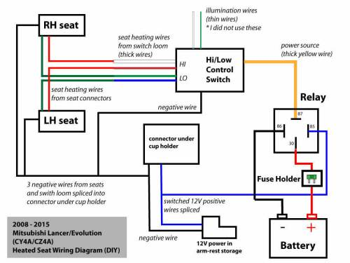 small resolution of seat heater wiring diagram wiring diagram features 2009 f150 seat heater diagram source heated seats relay ford