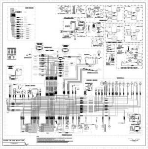 Wiring Diagram  Superformance chassis #1040 thru #1899