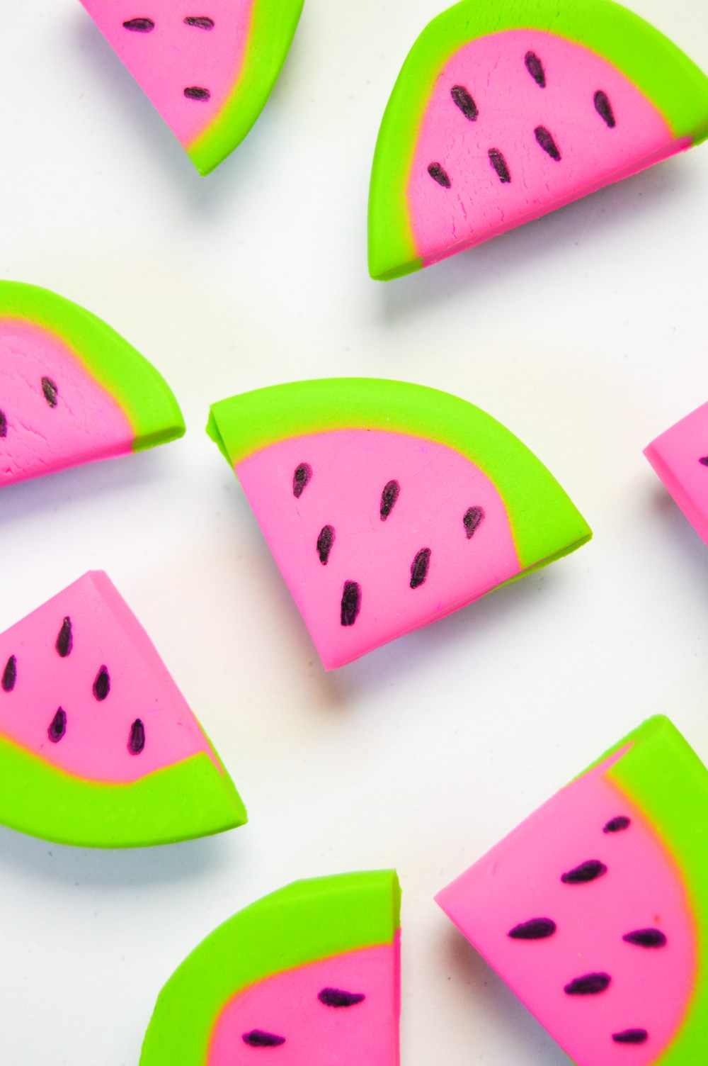 DIY Watermelon Magnets | www.clubcrafted.com