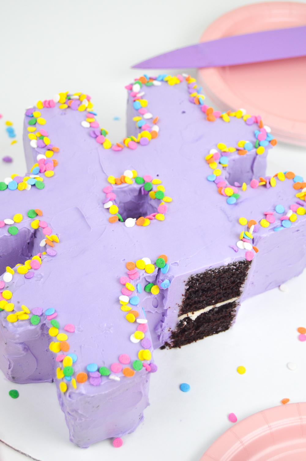 Chocolate Hashtag Cake | Club Crafted