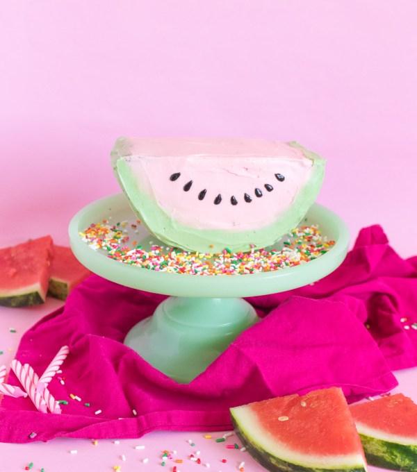 Watermelon Cake | Club Crafted
