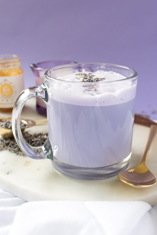 Lavender Tea Latte   Club Crafted