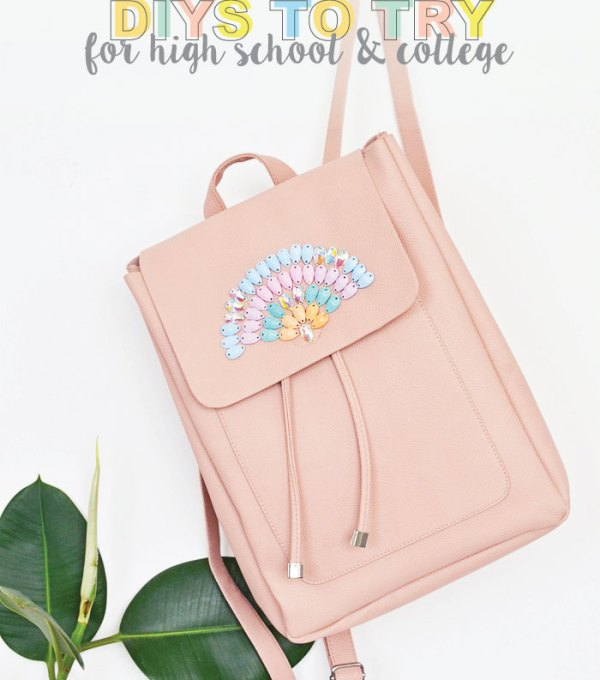 Back-to-School DIYs to get You Excited for a New Year | Club Crafted