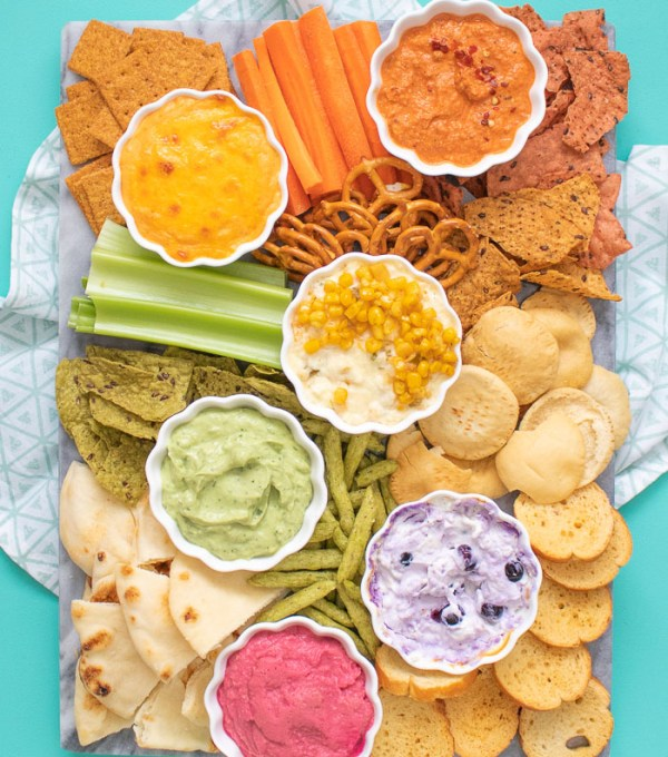 A Rainbow of Dip Ideas for Summer | Club Crafted