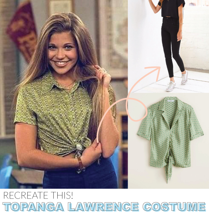 How to Make 5 Popular 90s Character Costumes for Halloween   Club Crafted
