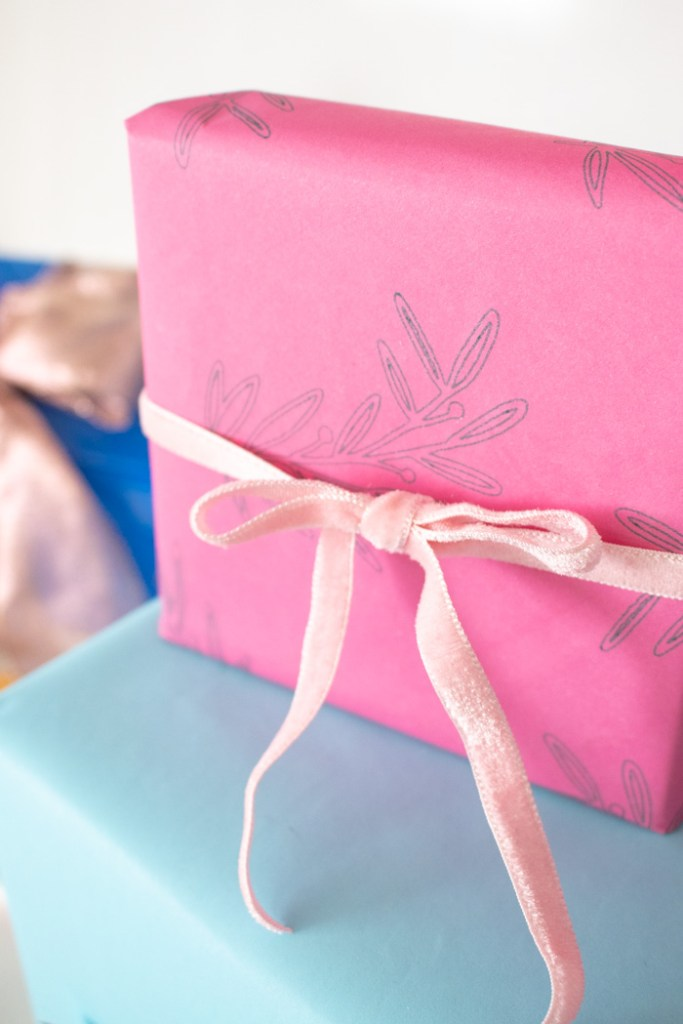 How to Customize Gift Wrap with the Cricut Explore Air 2 (+ an Instagram Giveaway!)   Club Crafted