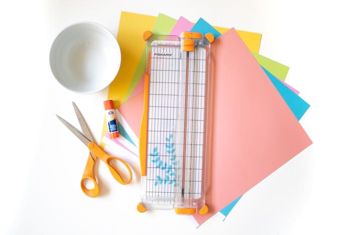 DIY Easy Geometric Paper Wall Art   Club Crafted