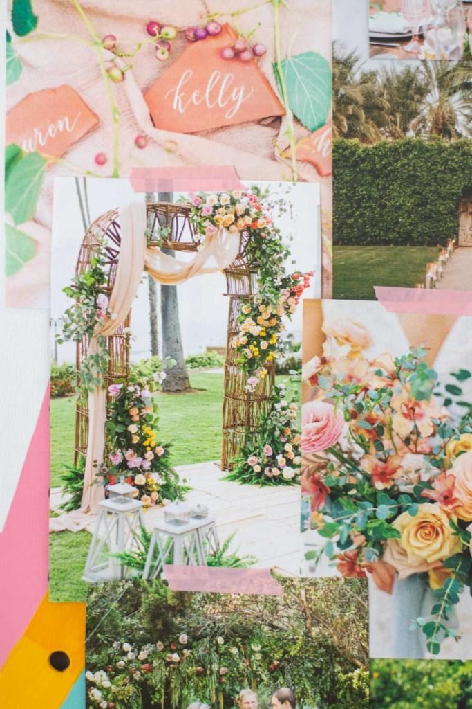 Whimsical Garden Wedding Mood Board   Club Crafted