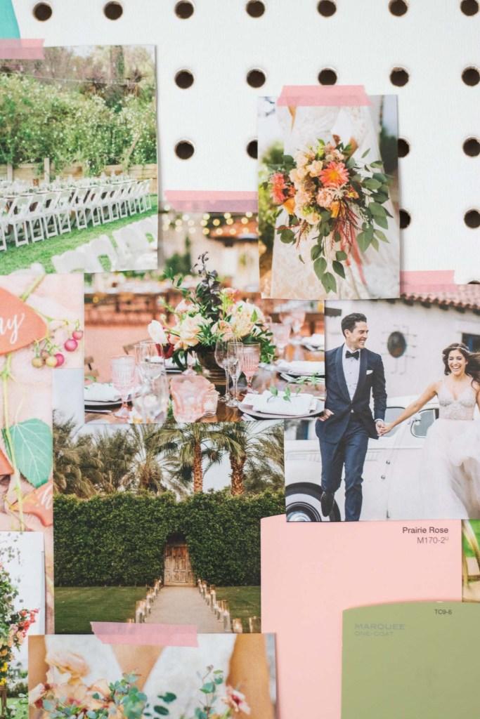 Whimsical Garden Wedding Mood Board | Club Crafted