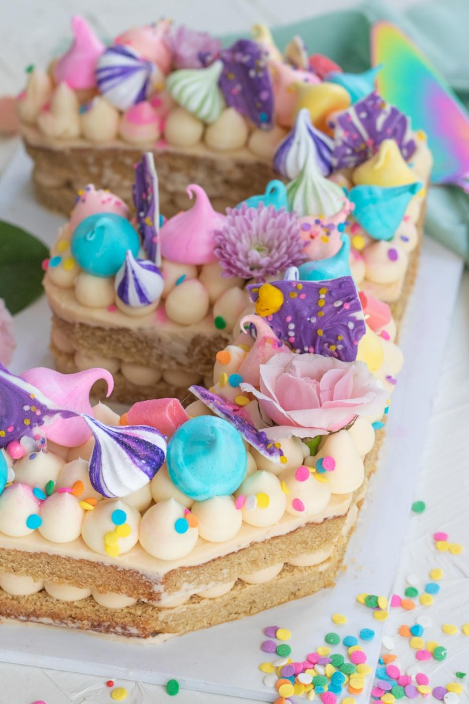 The Easy Way to Make a Number Cake: Club Crafted Turns 3! | Club Crafted