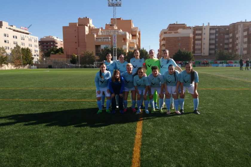 equipo femenino futbol CD El Ejido