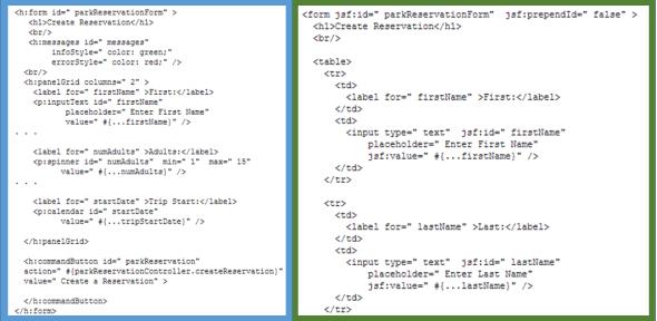 jsf_vs_html_comparacion_codigo