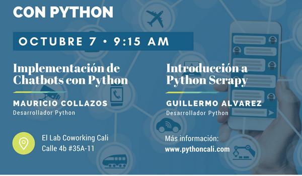 Python Cali: Web Scrapy y Chatbots con Python