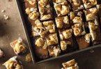 Pipoca com Leite Condensado e Chocolate