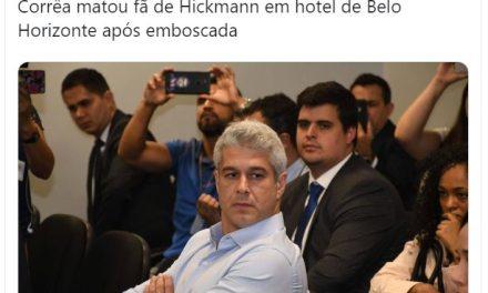 Folha de São Paulo sobre o Cunhado de Ana Hickmann