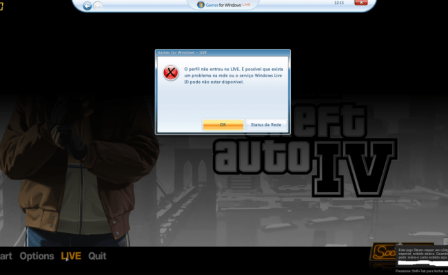 Problema Para Conectar No Games For Windows Live Gta Iv