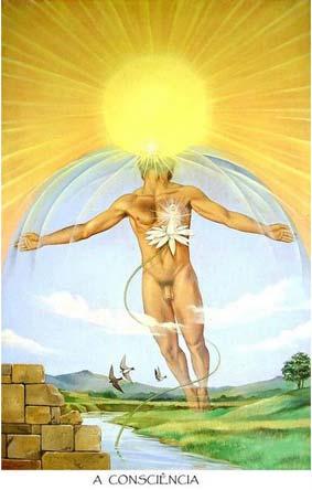 A Consciência (Sol) no Tarô de Eduardo Vilela