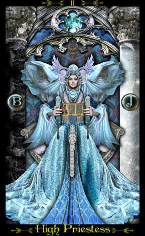 Resultado de imagem para a papisa tarot illuminati