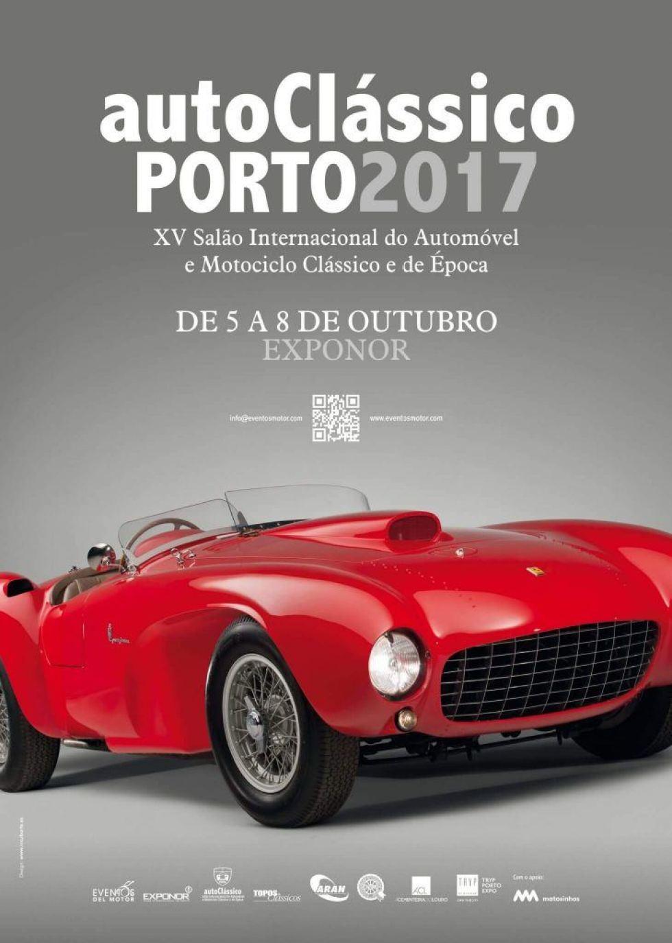 AutoClássico Porto 2017 – 5 A 8 De Outubro – Exponor