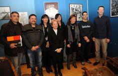 Les membres du club Entreprendre avec Marie-Josée Aparicio.  © Photo Guillaume