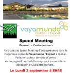 02/09/2019 – Speed meeting à Quillan