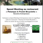 02/07/2018 : Speed meeting à Saint-Ferriol