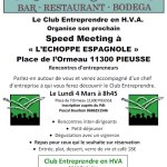 04/03/2019 – Speed meeting à Pieusse