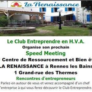 08/07/2019 – Speed meeting à Rennes-les-bains