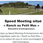 4 septembre 2017 : Speed Meeting d'entrepreneurs
