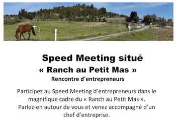 speed meeting d'entrepreneurs à Limoux