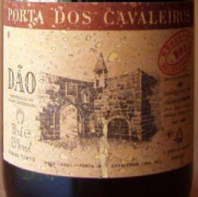 Porta dos Cavaleiros Dão Reserva Tinto 2012