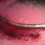 Mosto de vinho tinto a ferver