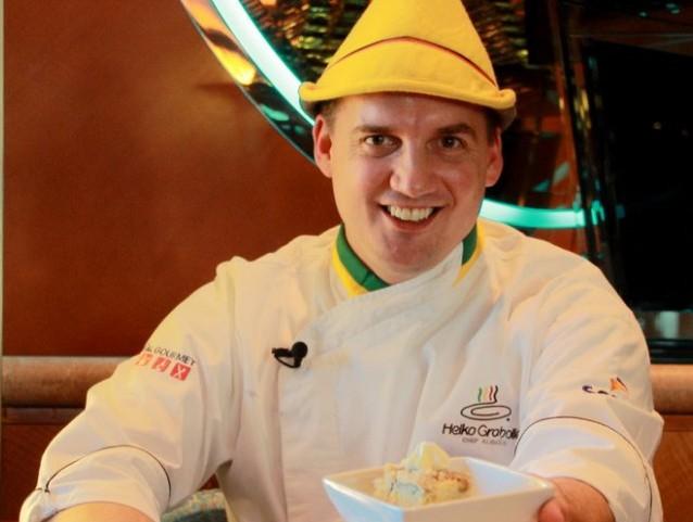 Chef Heiko Grabolle, alemão radicado no Brasil desde 2003