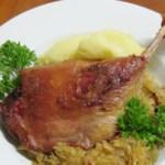 Pato com chucrute - Ente mit bayrischem Sauerkraut
