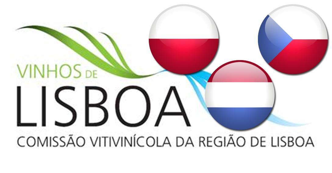 SÃO PROVENIENTES DA POLÓNIA, REPÚBLICA CHECA E HOLANDA.  MERCADOS POLACO, CHECO E HOLANDÊS PESAM CERCA DE 30% NAS EXPORTAÇÕES DA REGIÃO  São mais de 50 os Vinhos de Lisboa que os jornalistas estrangeiros provenientes da Polónia, República Checa e Holanda vão ter a oportunidade de provar na próxima sexta-feira, dia 19 de setembro, na sede da Comissão Vitivinícola de Lisboa (CVR Lisboa), em Torres Vedras