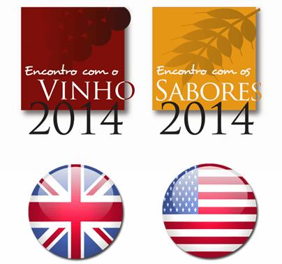 Especialistas estrangeiros visitam 'Encontro com o Vinho e Sabores 2014'     ·       Vindos dos E.U.A. e do Reino Unido a convite da Revista de Vinhos e da ViniPortugal